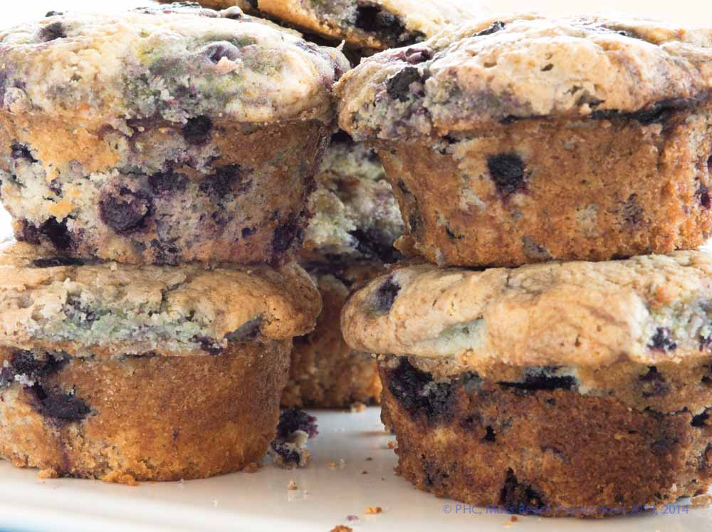 Best Breakfast Blueberry Muffins (BBB)