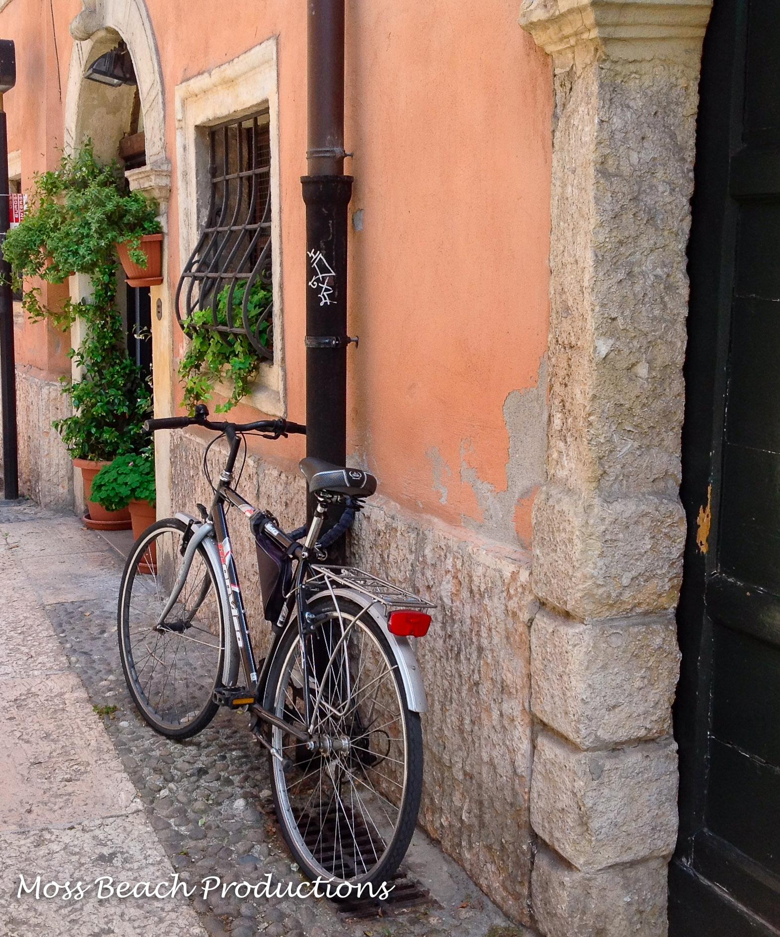 A bike ride through town