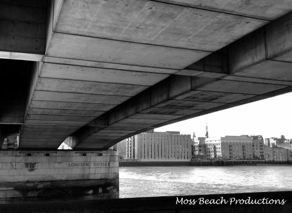 Beneath the iconic bridge