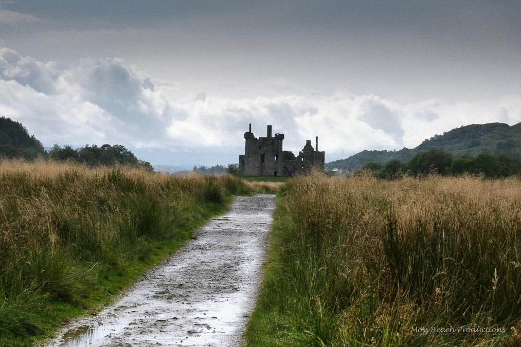 Old Kilchurn Castle in the Highlands