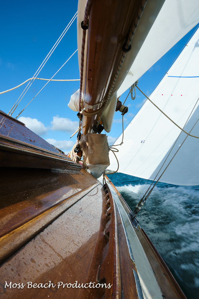 Sailing the Pinuccia in St. Mawes