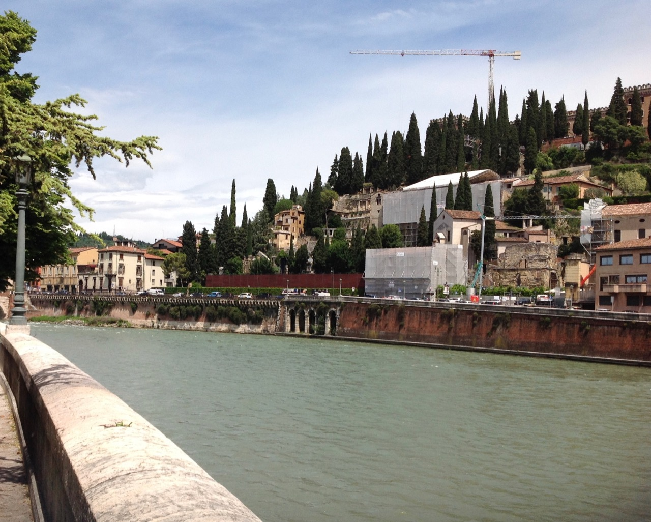 Another Adige view