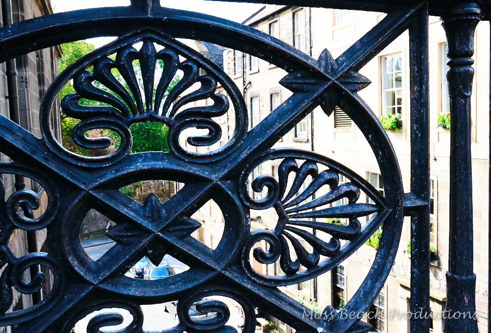Emblems of history in Edinburgh